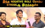 NEGATIVE ROLE ரொம்ப STRESS ஆஹ் இருந்துச்சு | ACTOR IRFAN | RAJAVUKKU CHECK MOVIE | FILMIBEAT TAMIL