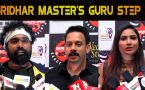 SRIDHAR MASTER'S GURU STEP 3 | GRAND DANCE SHOW | CELEBRITIES BITES | FILMIBEAT TAMIL