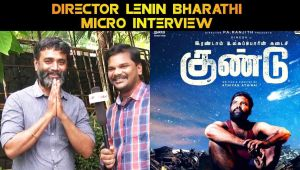 DIRECTOR LENIN BHARATHI MICRO INTERVIEW | V-CONNECT | FILMIBEAT TAMIL