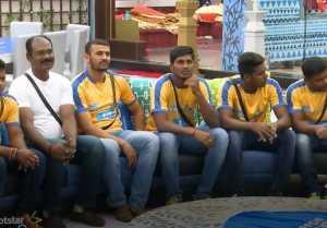பிக் பாஸ் வீட்டுக்குள் கபடி விளையாடும் போட்டியாளர்கள்-வீடியோ