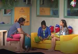 வையாபுரி பற்றி புரணி பேசும் ரைசா-வீடியோ