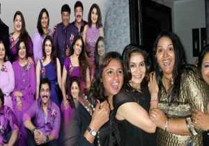அந்தக்கால நடிகர் நடிகைகளின் ஆட்டம் பாட்டம் கொண்டாட்டம்  80'ஸ் கெட் டுகெதர்! வீடியோ