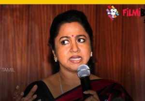 கெடுவான் கேடு நினைப்பான்: விஷாலை விளாசிய ராதிகா சரத்குமார்- வீடியோ