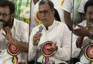 நடிகர் சங்கம் பொது குழு கூட்டத்தில் விஷால், கார்த்தி, நாசர்-வீடியோ