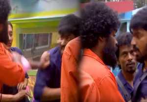 பிக் பாஸ் 2 வீட்டில் அடித்து கொள்ளும் மஹத்-டேனி-வீடியோ