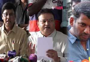 Nadigar Sangam: நடிகர் சங்க தேர்தல் நிறுத்தப்பட்டது குறித்து பாக்யராஜ் பேட்டி- வீடியோ