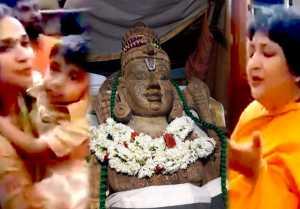 Athi varadar : அத்தி வரதர் கோவிலில் ரஜினிகாந்த் குடும்பம்- வீடியோ