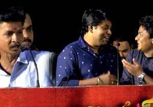 ரோப்புல கட்டி தொங்க விட்டுட்டாங்க - பிஜிலி ரமேஷ்- காமெடி பேச்சு- வீடியோ