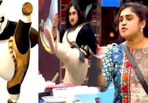 Bigg Boss 3 Tamil : Promo 3 : Day 58 : கஸ்தூரியை வெச்சி செஞ்ச வனிதா- வீடியோ