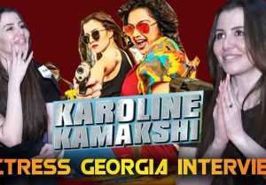 ACTRESS GEORGIA INTERVIEW|KAROLINE KAMAKSHI WEB SERIES|V-CONNECT|FILMIBEAT TAMIL