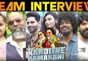 KAROLINE KAMAKSHI TEAM INTERVIEW| V-CONNECT|FILMIBEAT TAMIL