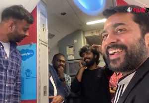ஜீவி பிரகாஷின் குரலில் மயங்கிய சூர்யா.. டிரெண்டாகும் வீடியோ!