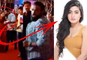 Fan Kisses Leading Actress in Public | Rashmika mandanna | Ashika Rangananth