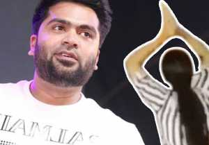 Simbu girl Fan ULTRA SPECIAL Celebration for simbu's speech | Simbu Girl Fans Mass Moments