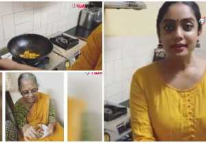 Abhirami Venkatachalam Tip of the Day | Potato Fries | Quarantine | Lock Down