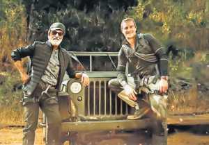 SuperStar Rajinikanth's New Record | In to the Wild | Man Vs Wild | Bare grylls
