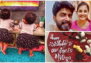 Sandra Prajan Notty twin Babies | Rudra & Mithra | Alia Syed