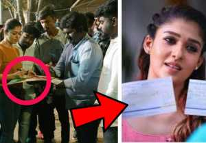 Nayanthara Donation for FEFSI Workers |Vignesh Shivan |Lock Down