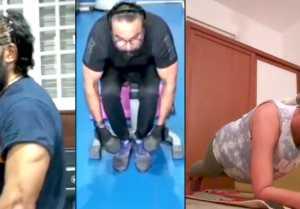 Fitness Qurantine   Sarathkumar & Varalakshmi   Father Daughter Goals
