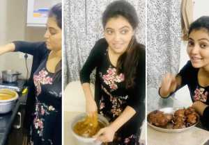 தமிழ்நாட்டு style கச்சாயம்  | Athulya Ravi's Kitchen | Quarantine