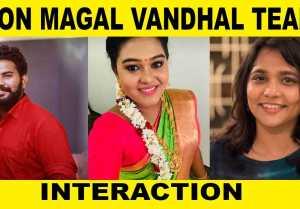 PONMAGAL VANDHAL TEAM INTERACTION | VINODHINI | AKALYA | VJ ASHIQ | FILMIBEAT TAMIL