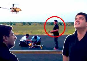 தல Ajith unseen Drone Training Video | Dhaksha Team