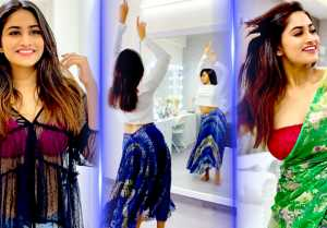 Shivani -ன் Charming Dance | Rettai Roja, Pagal Nilavu