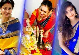 Varalakshmi Vrutham | Celebrity Devotion, Sneha, Preetha, Abhirami