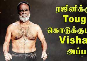 விஷாலின் அப்பா GK Reddy 82 வயசிலும் வெறித்தனமான WorkOut | Filmibeat Tamil