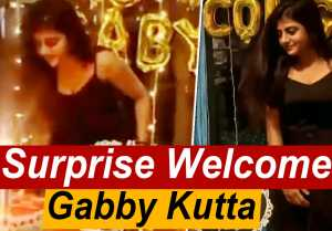 Bigg Boss Gabi Grand Welcome by Friends | Positivity Spread பண்ணு Kumaru - Filmibeat Tamil