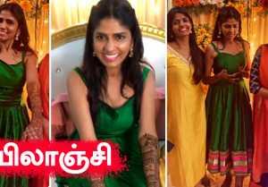 Actress Niranjani Mehendi Function | kannum Kannum Kollaiyadithal, Desingh Periyasamy