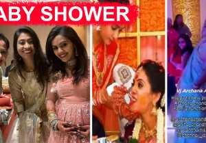 செம்ம குத்தாட்டம்ஜ! Anchor Archana sister Anitha Baby Shower Function