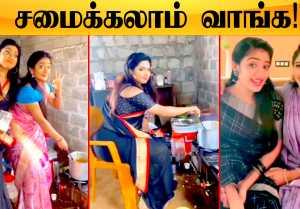 Idhaiyathai Thirudathe Setல் அட்டகாசம் செய்யும் Sahana, Kayal | Sillunu Oru Kadhal