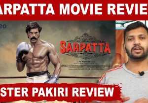 SARPATTA - Poster pakiri review | Filmibeat Tamil