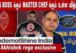 BIGG BOSS மாதிரி நிறைய Interesting shows plan இருக்கு | Mr. Abhishek Rege Exclusive| Filmibeat Tamil
