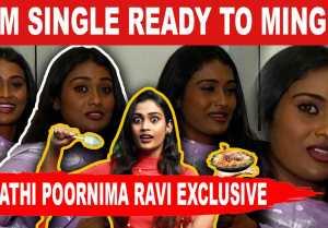 மாசம் 20 ஆயிரம் கெடச்சா போதும்னு நடிக்க வந்தேன் | Araathi Poornima Ravi Exclusive | Filmibeat Tamil