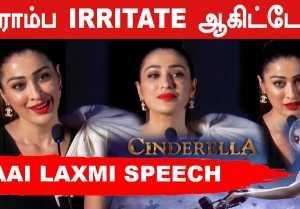 Cinderella Dress என்ன ரொம்ப வெறுப்பேத்திடுச்சு | Raai Laxmi Speech | Filmibeat Tamil