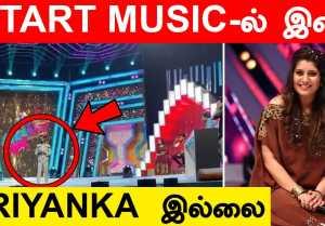 Start Music Show-வை Host செய்த MAKAPA, இனி Priyanka இல்லை | BB 5 Contestant