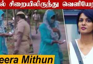 Meera Mithun புழல் சிறையிலிருந்து விடுதலையானார் | Shyam Abhishek