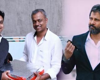 Harris says Dhruva Natchathiram single will release this month.