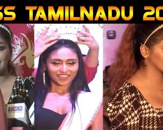 Deepthi crowned Miss Tamil Nadu 2020 | Yashika anand | filmibeat tamil