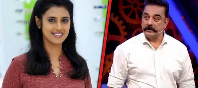 Bigg Boss 2  பிக் பாஸை கலாய்த்து கஸ்தூரி போட்ட வைரல் ட்வீட்