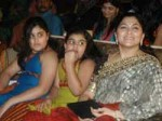 Kushboo And Her Daughters Escaped From A Boat