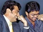 Ajith Meets Vijay Vettaikkaran Sets