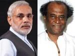 Narendra Modi Meet Rajini Aid