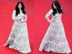 Cannes Anarkali Cheats Aishwarya