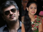 Ajith Spends Time With Actress Abhinaya In Shooting Spot