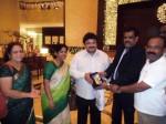 Prabu Welcomed Muthamil Sangam Dubai