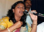 Roja Faints During Poll Campain