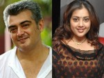 Meena Praises Ajith As Handsome Hero